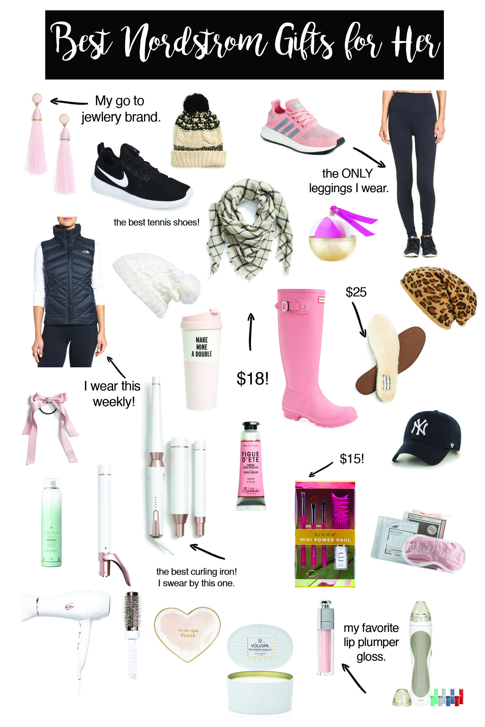 Best Gifts for Her | Nordstrom Gift Guide | Topknots and Pearls