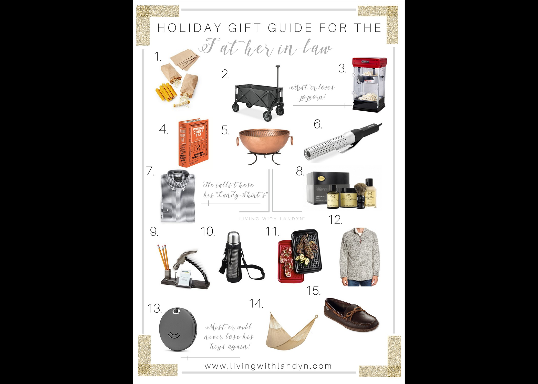 GIFT GUIDE FOR YOUR FATHER-IN-LAW — Living With Landyn
