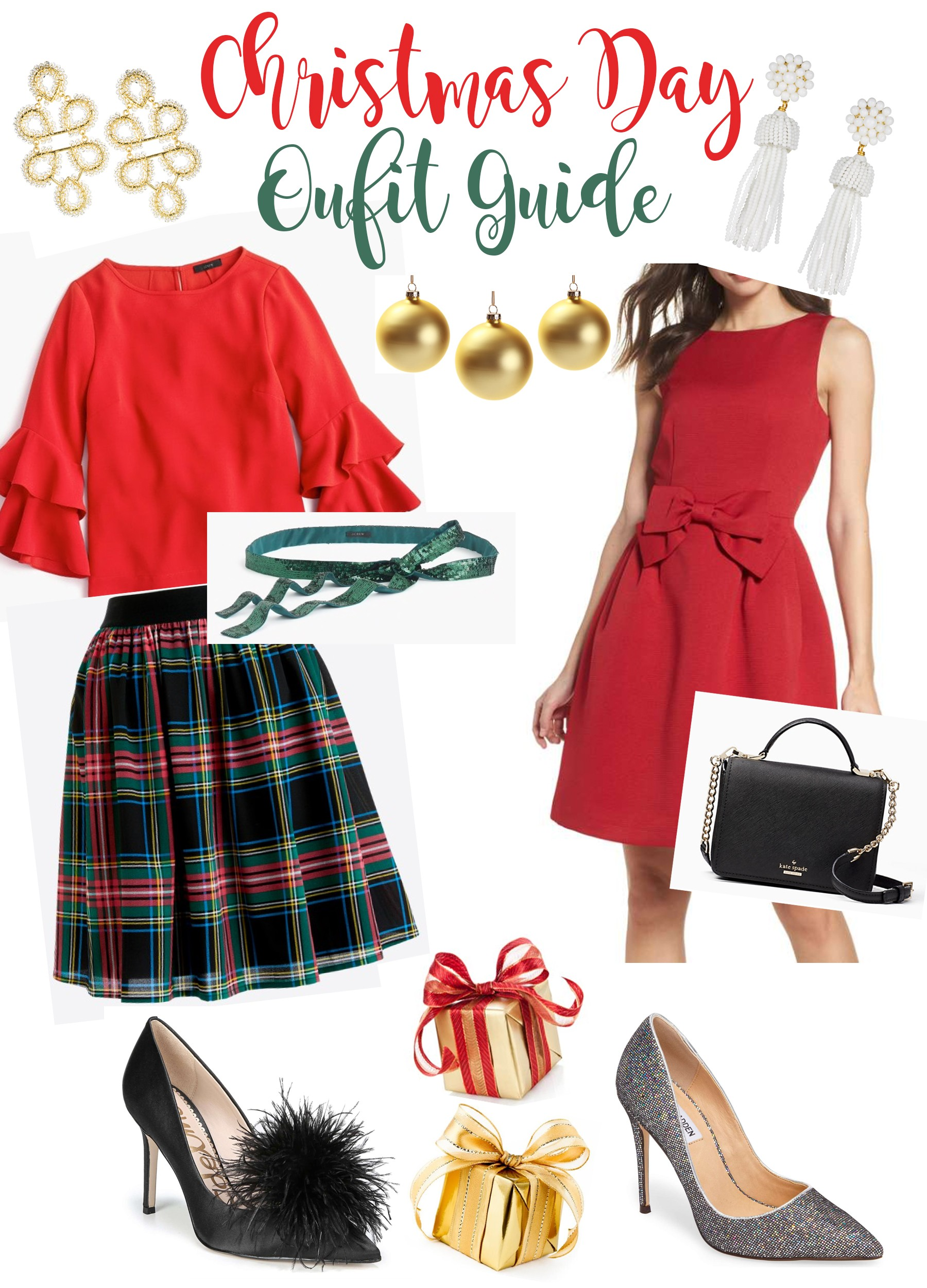 d748a41b35a6 Christmas songs are ringing and my Christmas tree has been lit:) Besides  stocking up on gifts I love to find the cutest Christmas Day outfit.