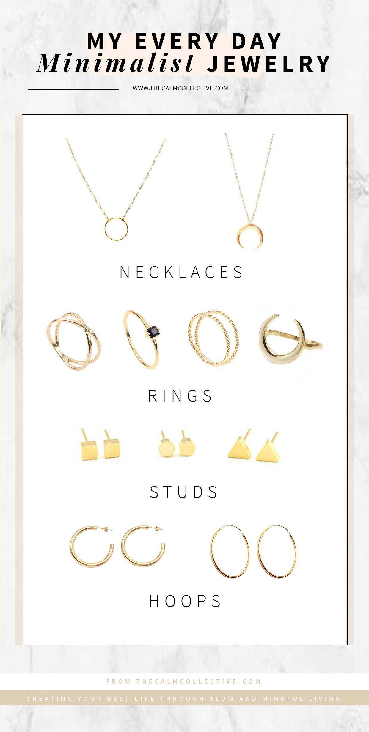 My Every Day Minimalist Jewelry Click The To View