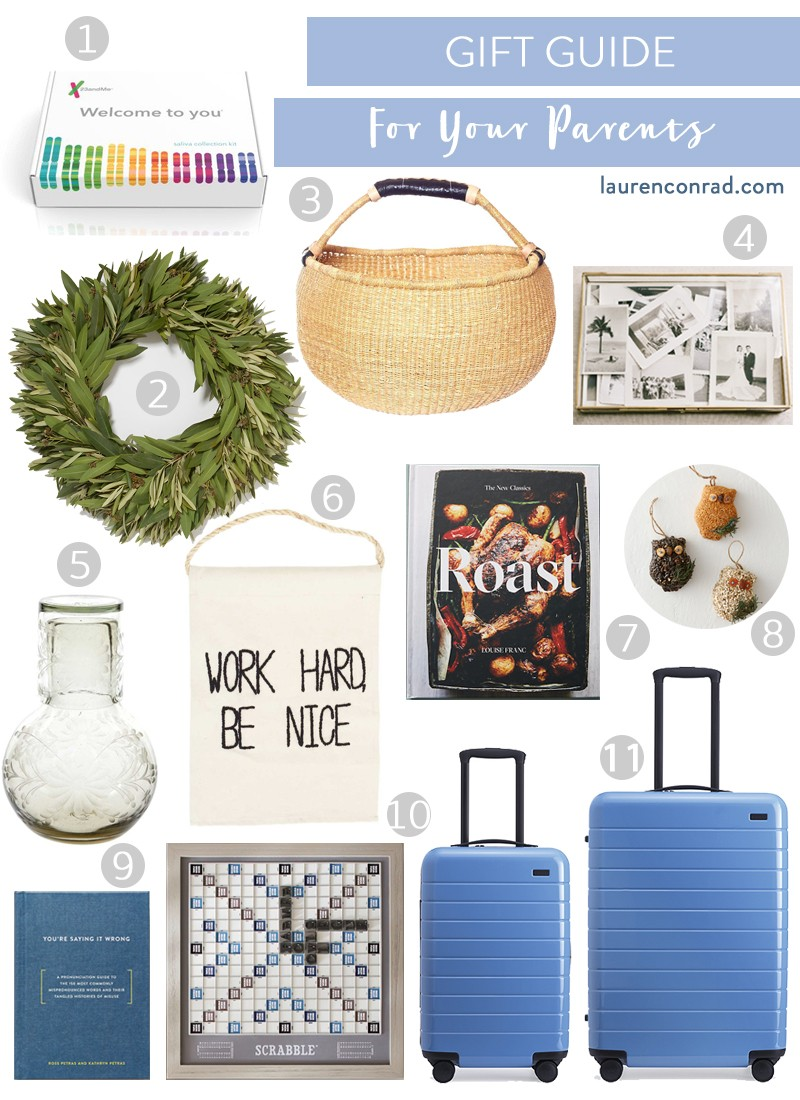 gift guide for your parents lauren conrad