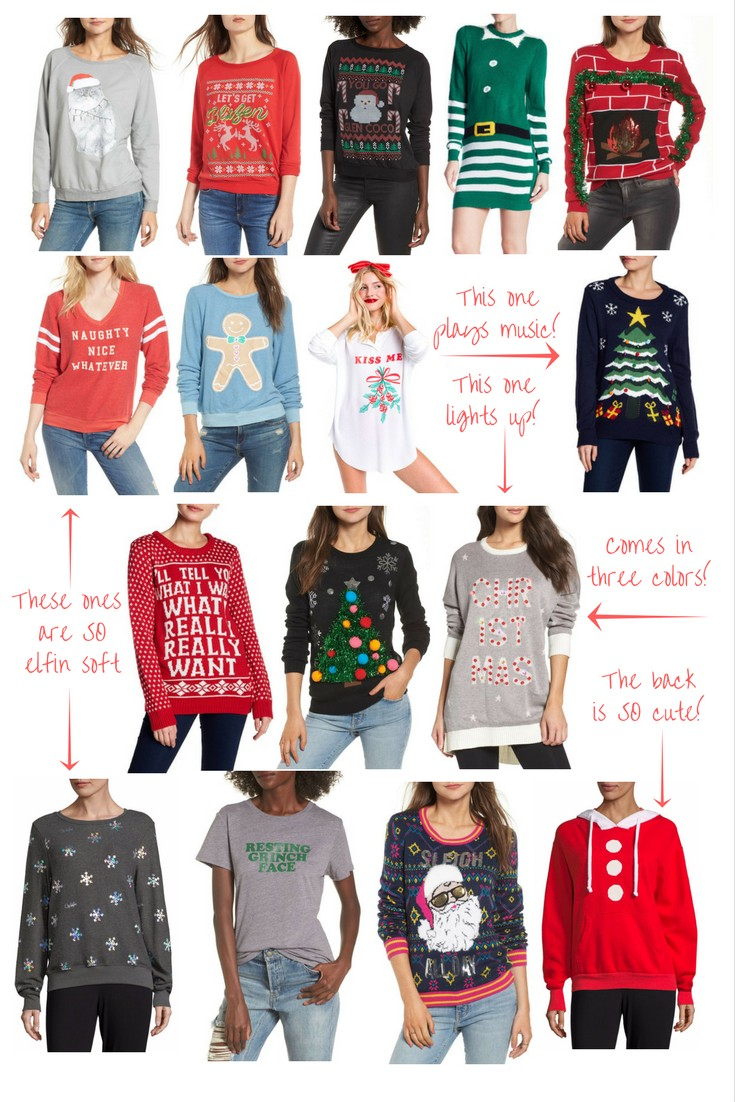 The Best Ugly Christmas Sweaters (and some cute ones!) — Olivia Shea ...