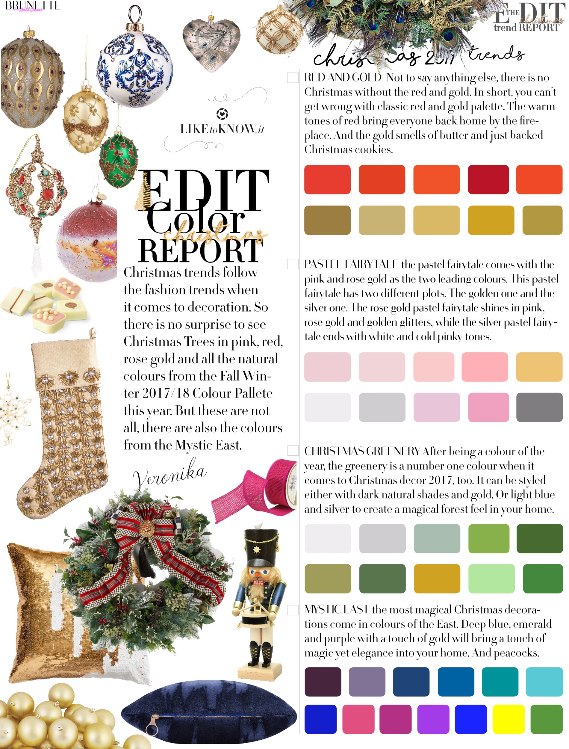 Christmas Trends You Wish You Knew in July | Brunette from Wall Street