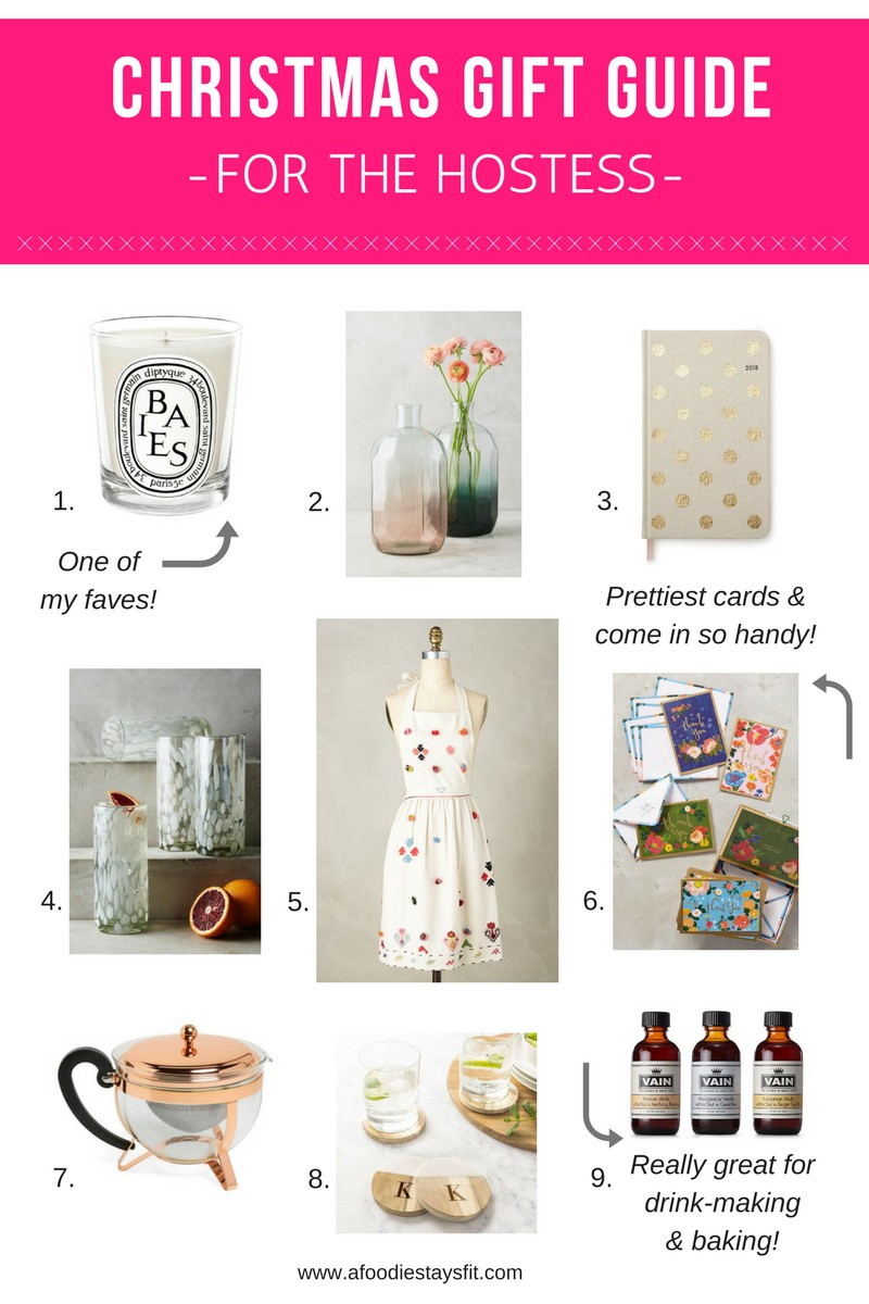 gift guide for the hostess with the mostest