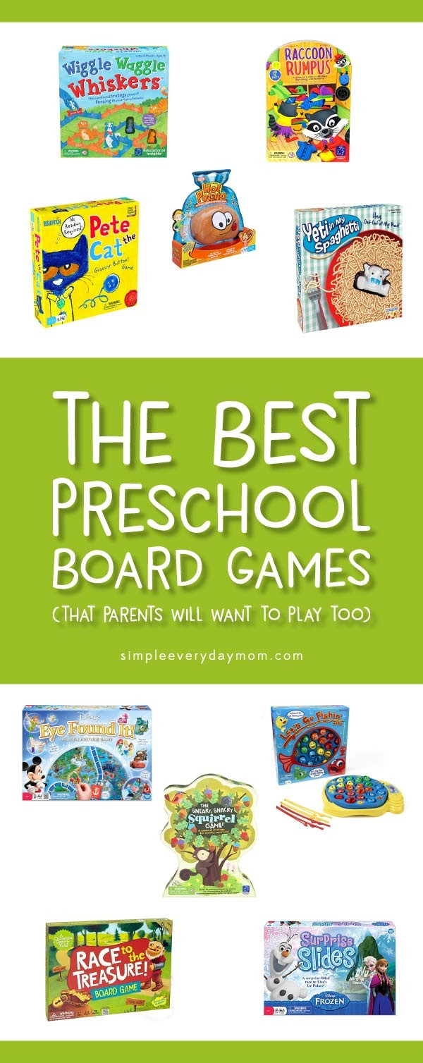 The 10 BEST Preschool Board Games (Parents Will Actually Want To Play)
