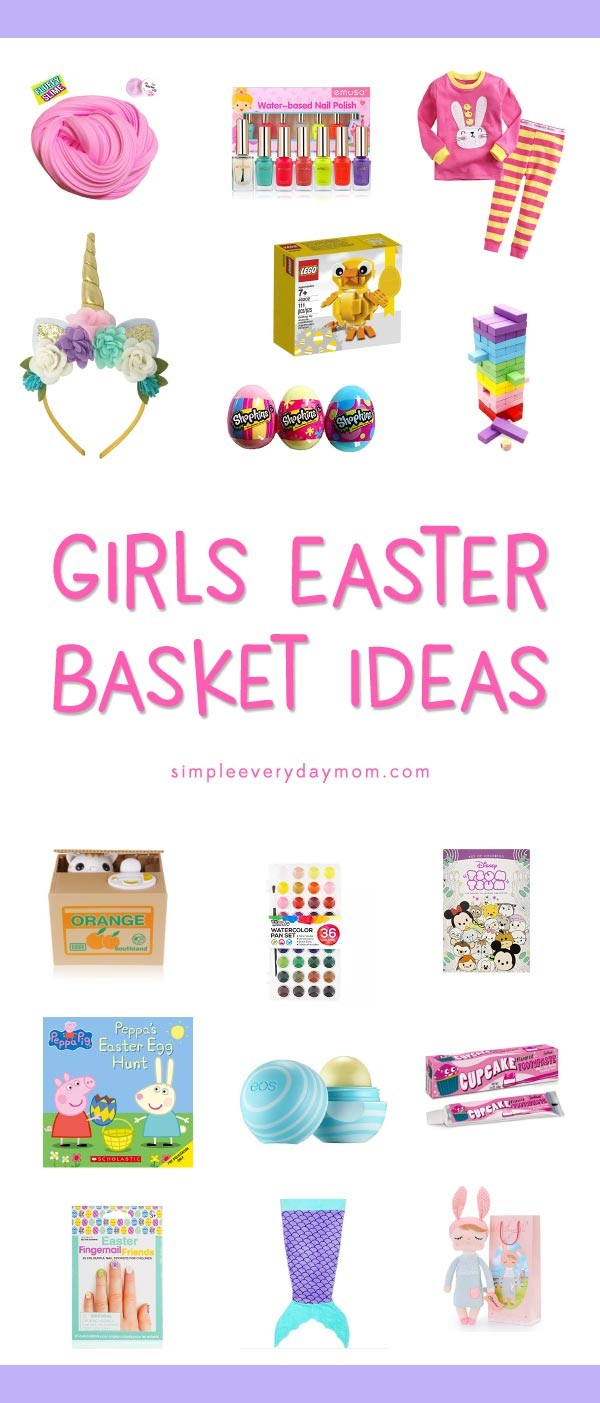 16 girls easter basket ideas young girls will love playful little girls easter basket ideas negle Choice Image