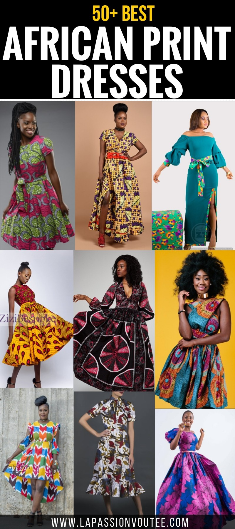 81c1209849 50+ Best African Print Dresses    where to get them