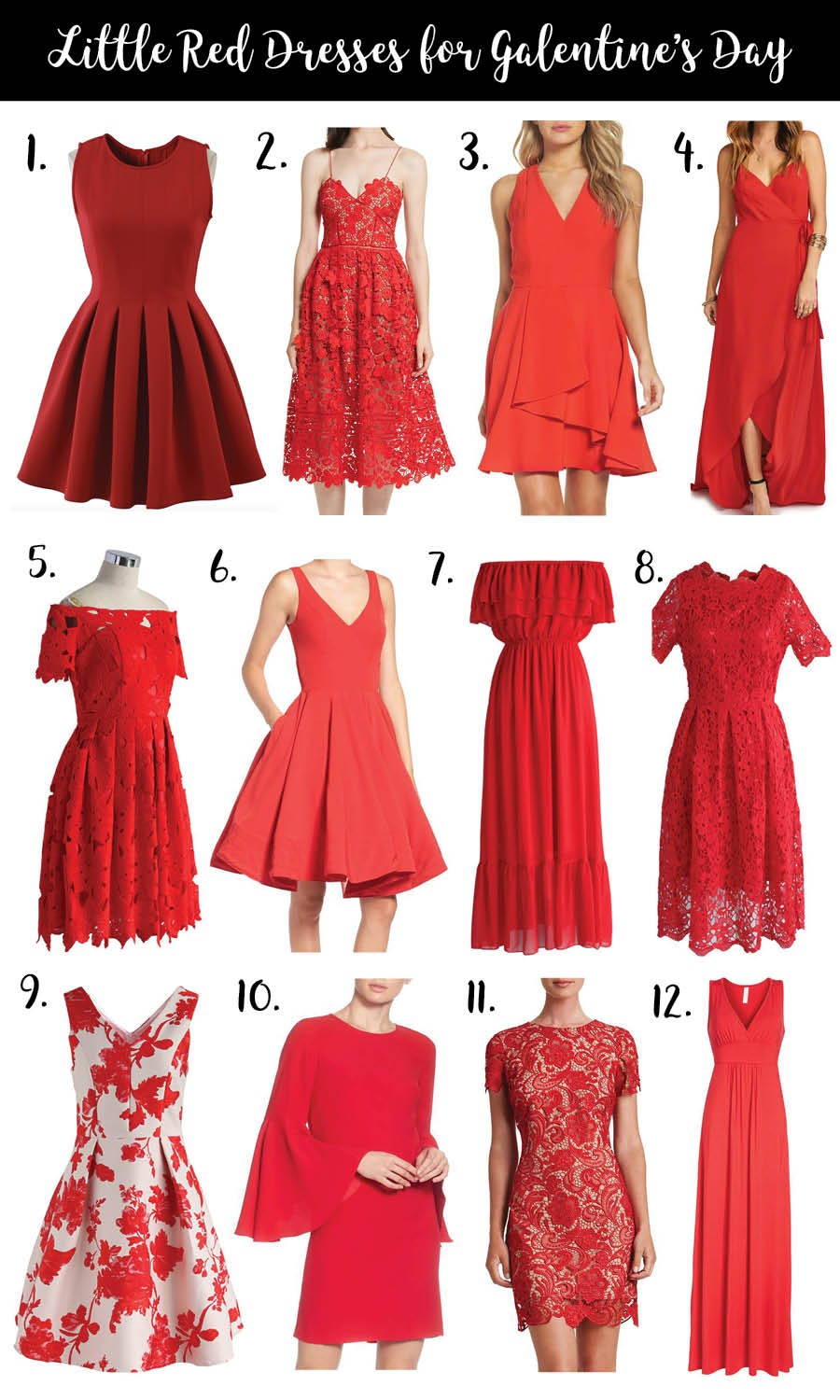 de685fd51 12 Little Red Dresses for Galentine s Day