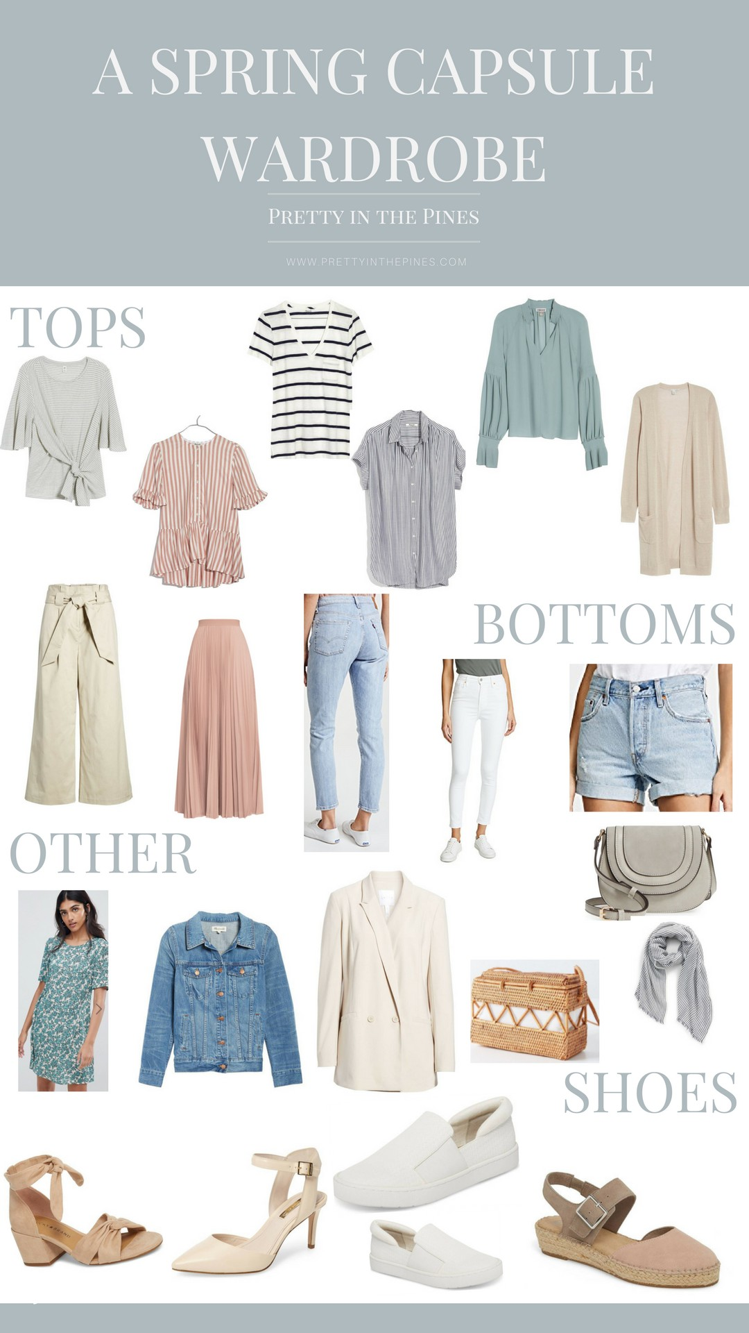 77050928d1b Building a Spring Capsule Wardrobe with 21 Pieces