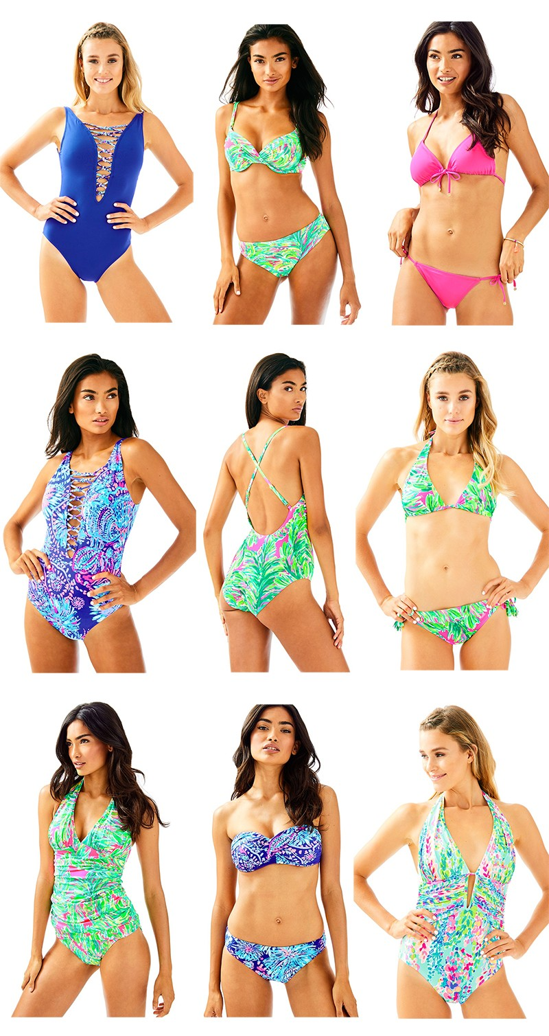 Lilly Pulitzer Swim Collection Favorite Swimsuits And Cover Ups