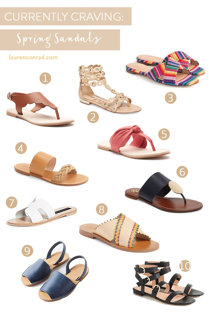 4a508b69b224f3 Currently Craving  Spring s Chicest Sandals - Lauren Conrad