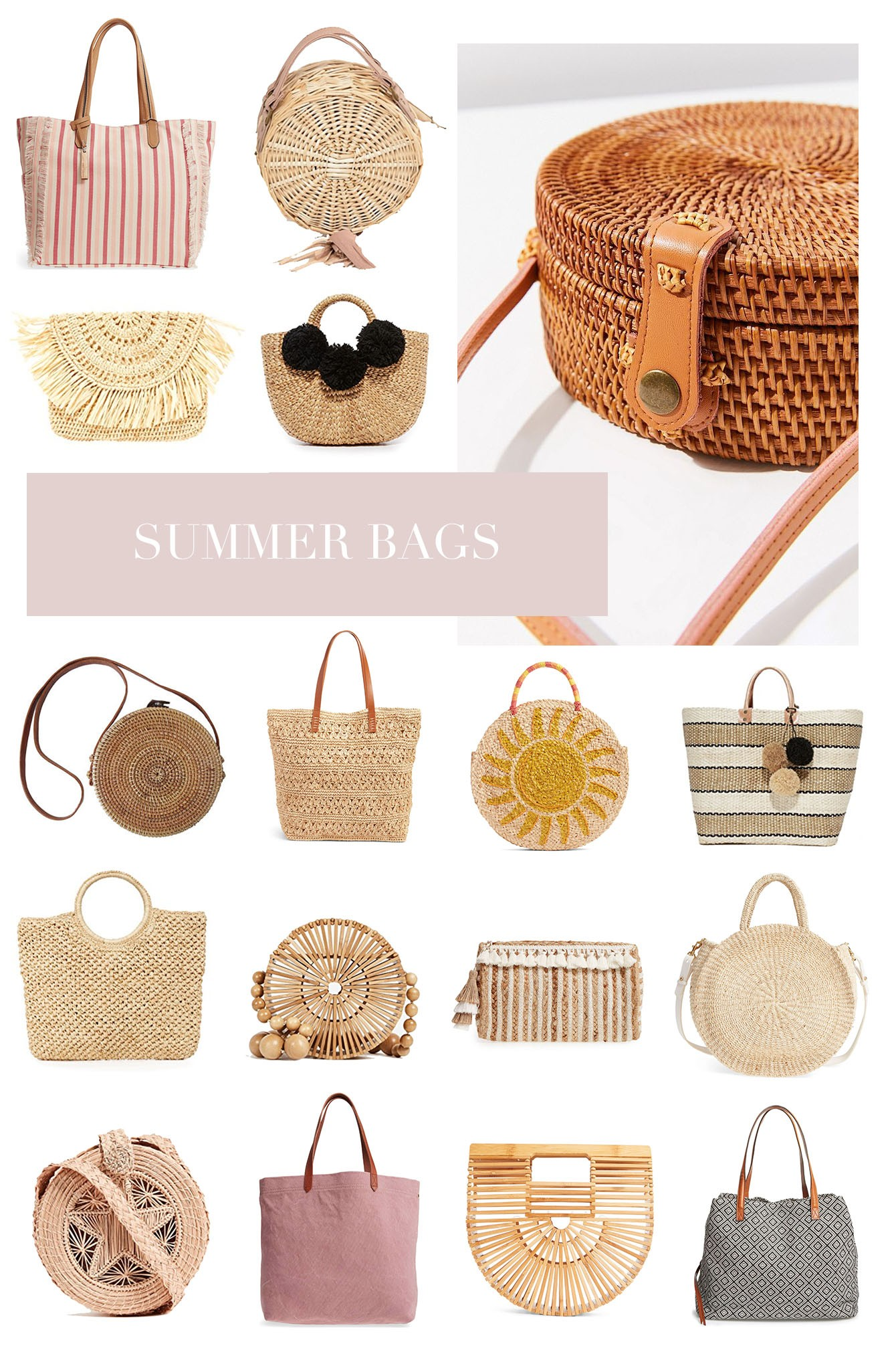 Below Are Some Other Beach Bags I M Eyeing Most Of Them Affordable Under 50 But A Few Bit Splurge They Were Just Too Cute Not To Share