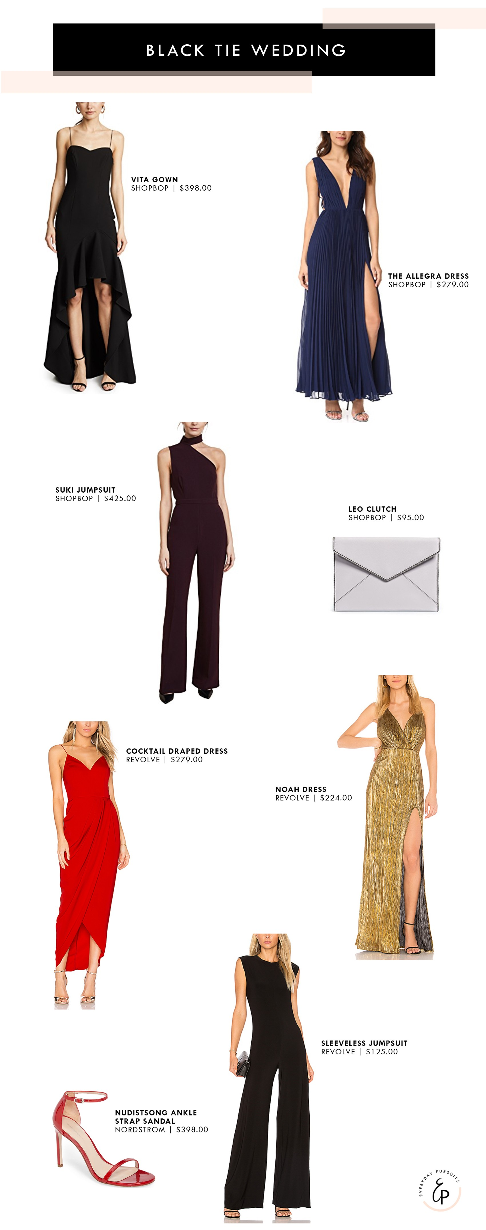 What to Wear: Wedding Style — Everyday Pursuits