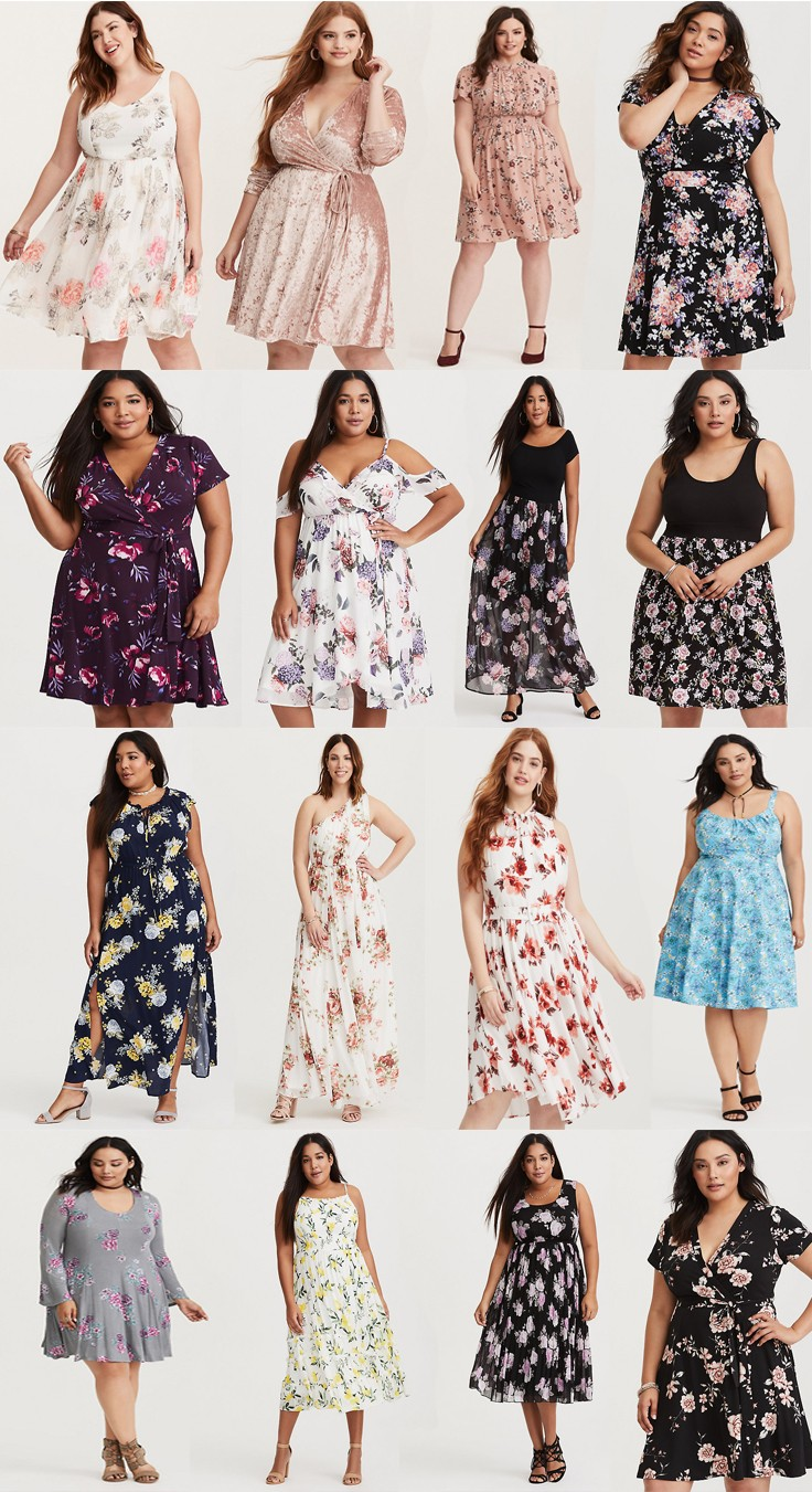 Plus Size Fashion: 16 Must Have Spring Dresses