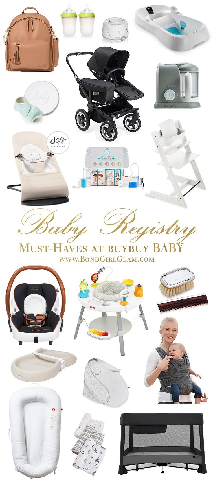 My Baby Registry Must Haves At Buybuy Baby Bondgirlglam Com A