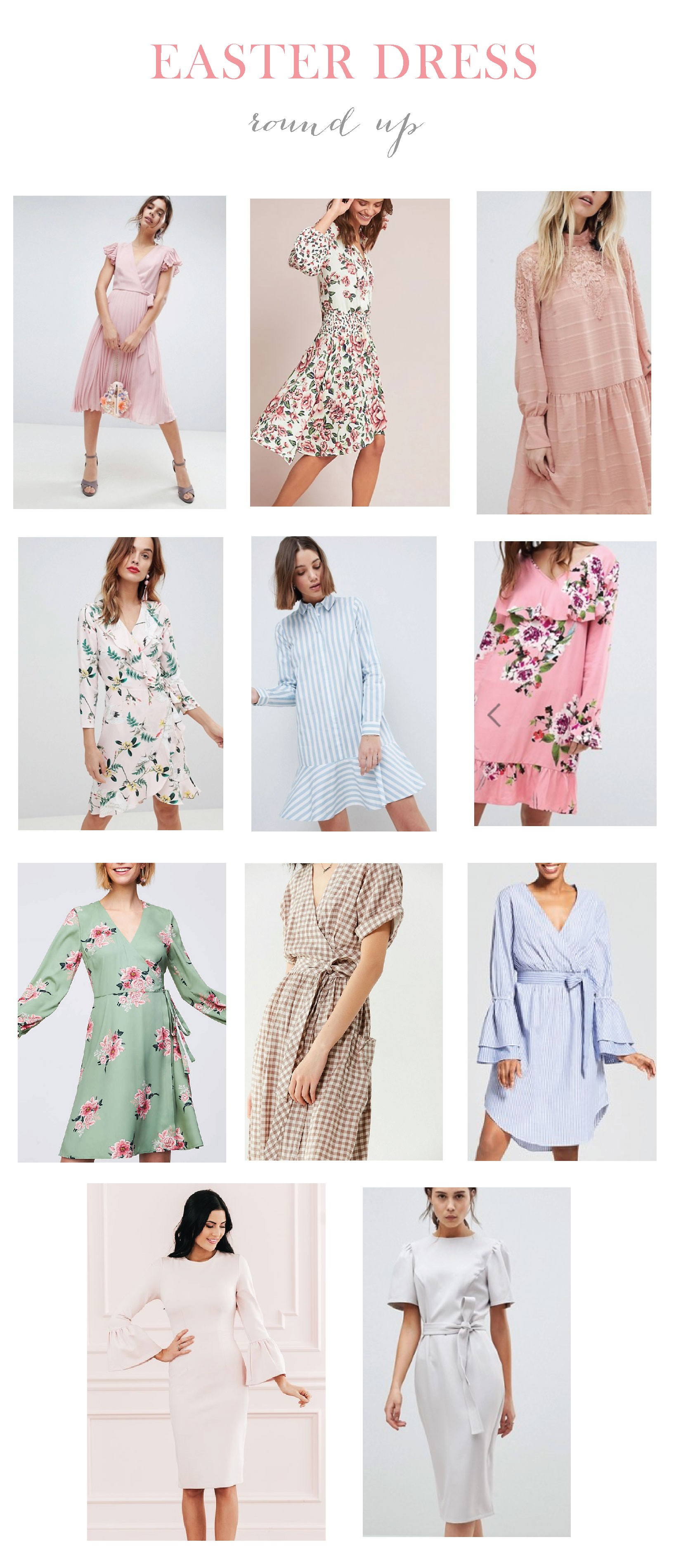 540a4705b44f Click any of the cute Easter dresses below to shop! Happy Monday!