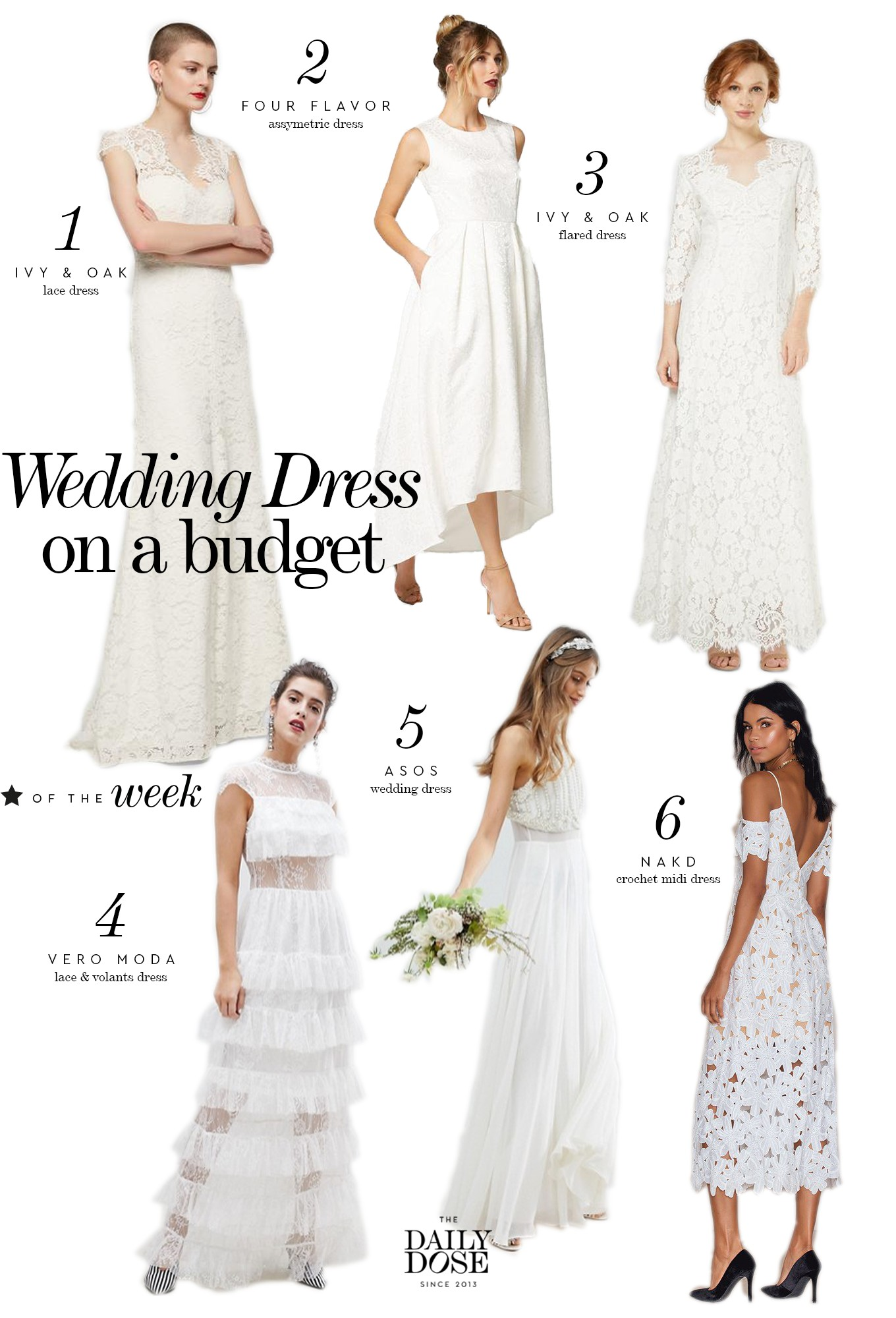 Wedding On A Budget: Bridal Dress For Less - The Daily Dose