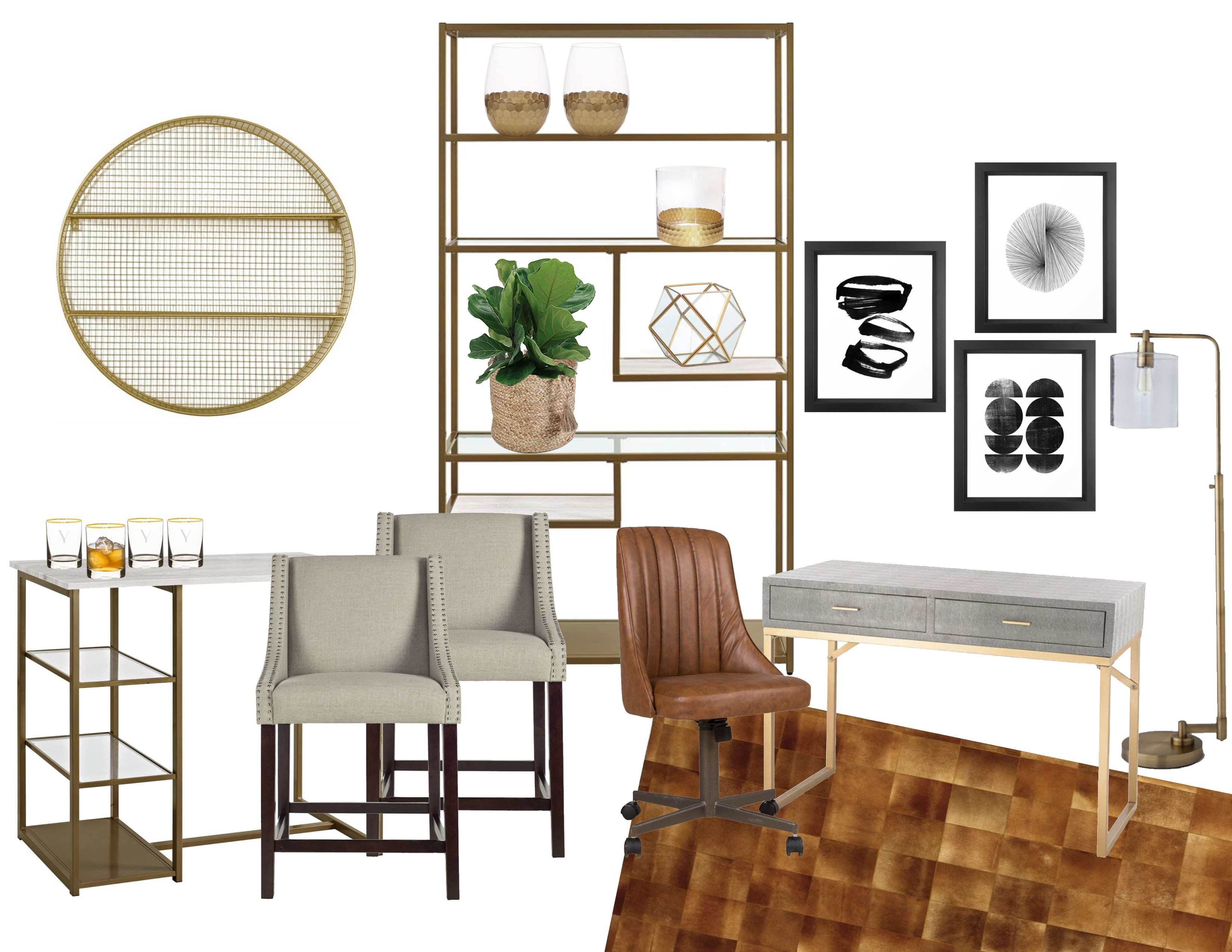 Home Inspiration Mad Men Inspired Office And Bar