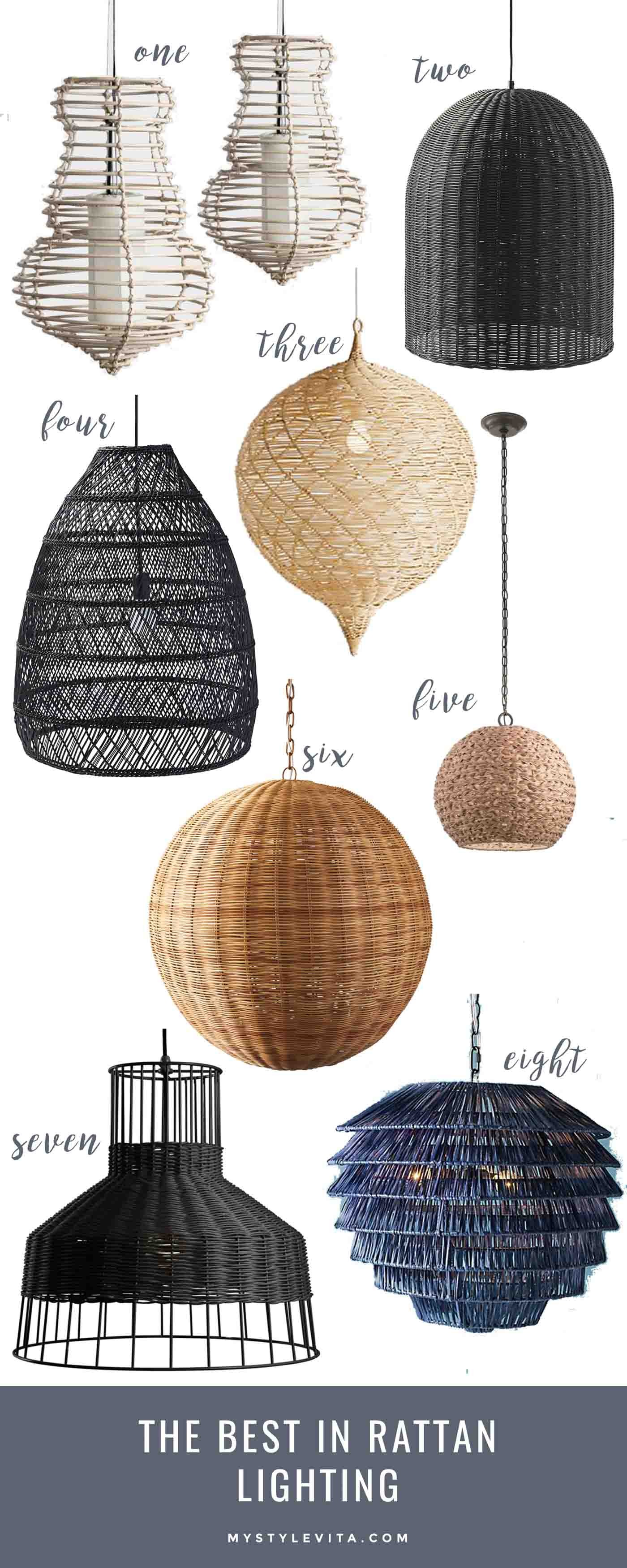 The Best In Rattan Lighting For Home My Style Vita
