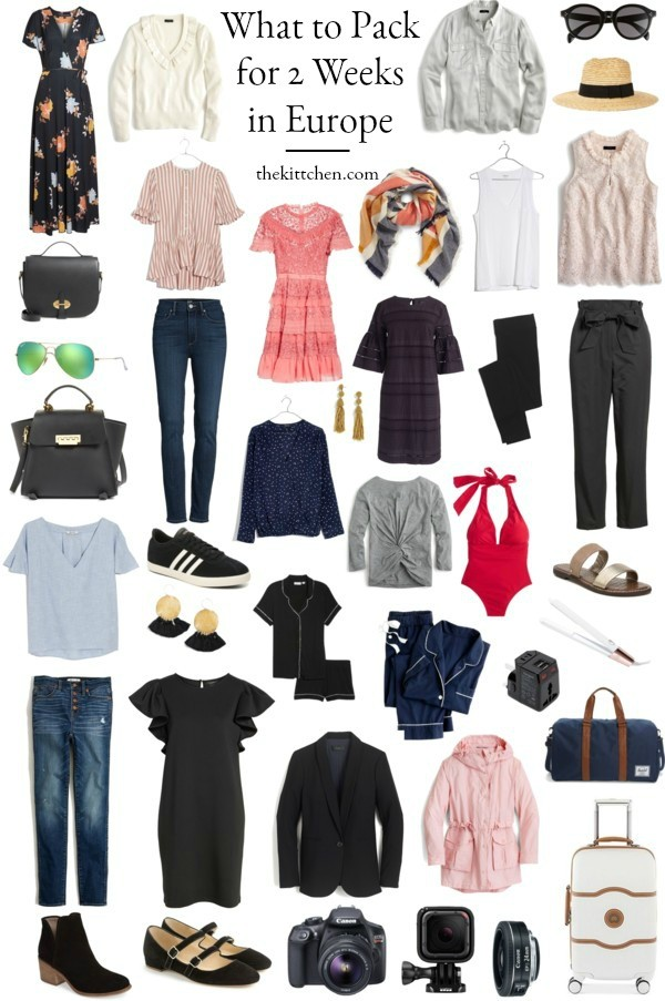 a complete europe packing list what you need for 2 weeks in europe