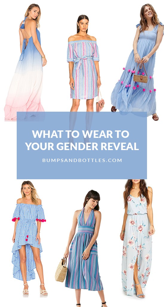 What to Wear to Your Gender Reveal Party • Bumps and Bottles