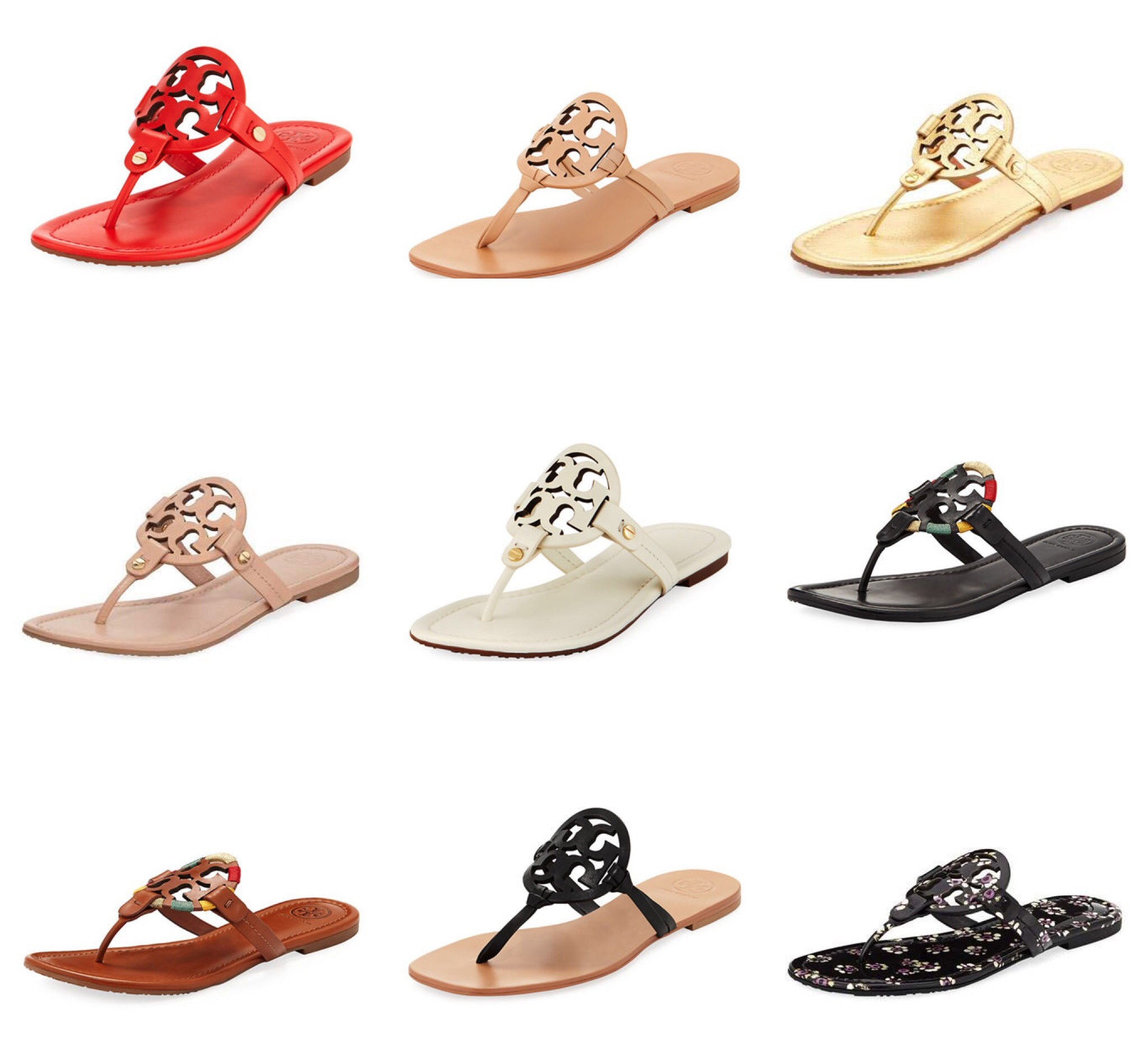 d1b618b90a4  Click on any image to take you directly to shop . Happy Monday Friends! Do  you love Tory Burch Miller Sandals ...