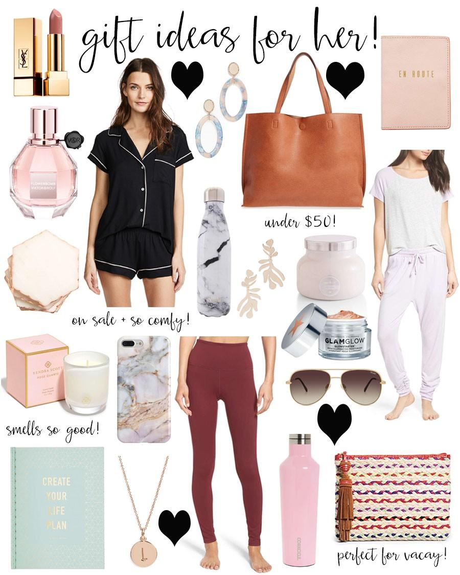 gift ideas for her! - Lauren Kay Sims
