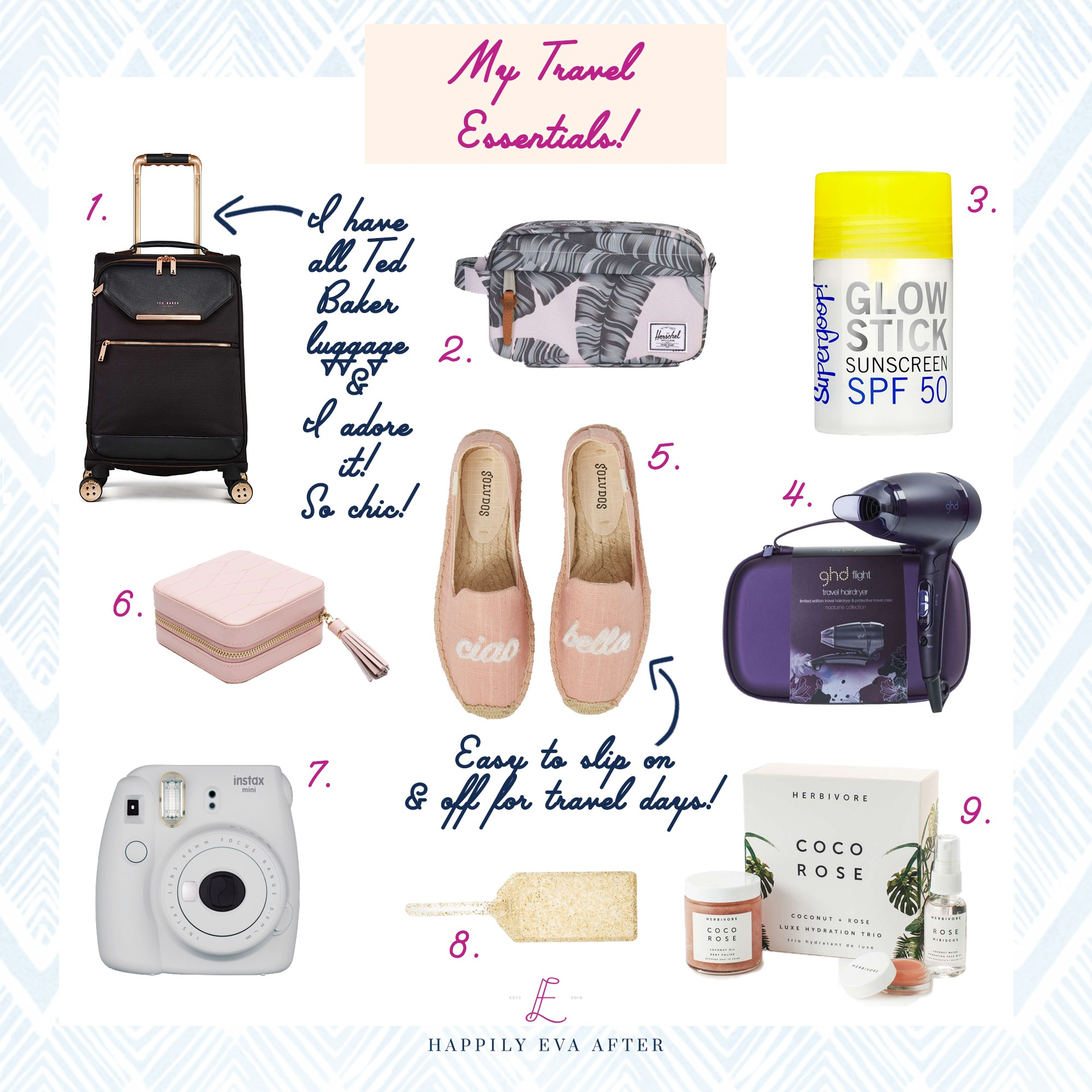 Just Click On The Collage Below To Shop And Let Me Know In The Comments If You Have Any Travel Must Haves To Share
