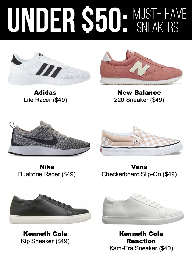 c2a0e5b057b92e ... love when I find good bargains and lately I ve been seeing tons of cool  sneakers on sale. I ve rounded up some of my favorites and guess what