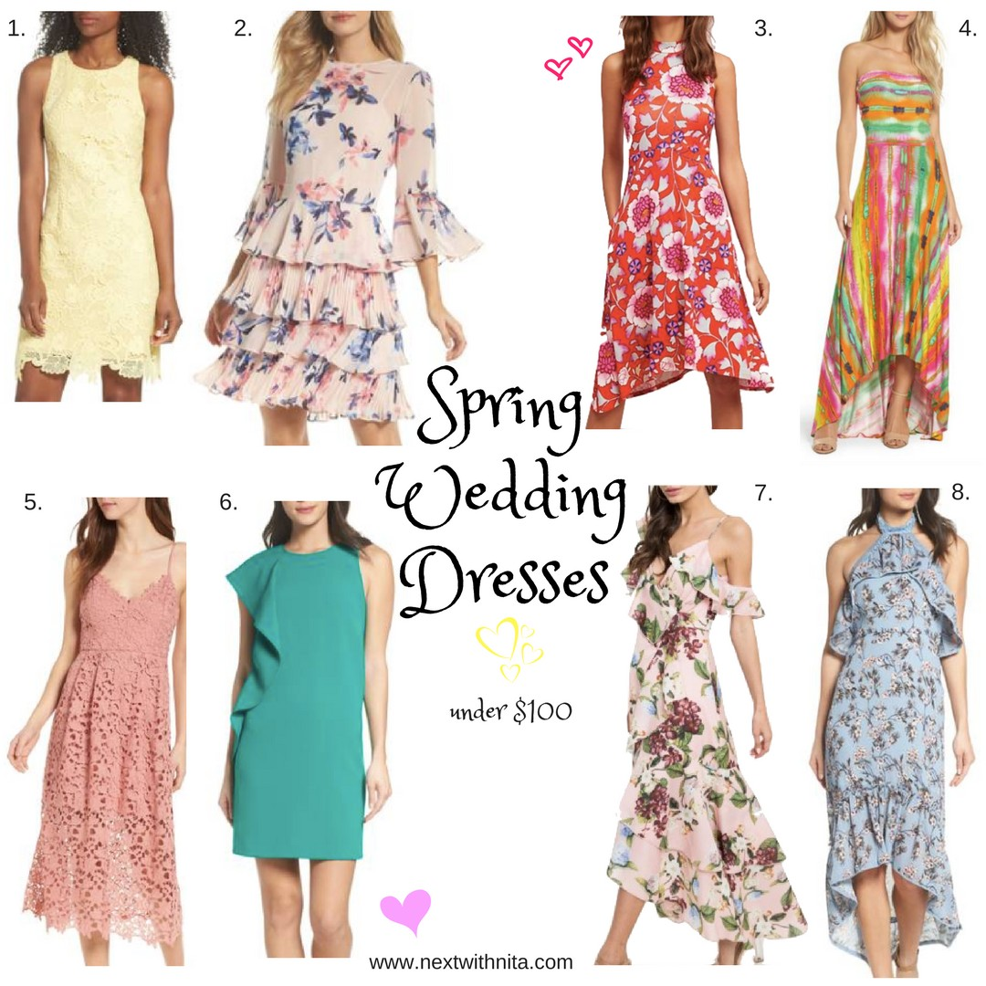 0592c73de12 16 spring wedding guest dresses under  100