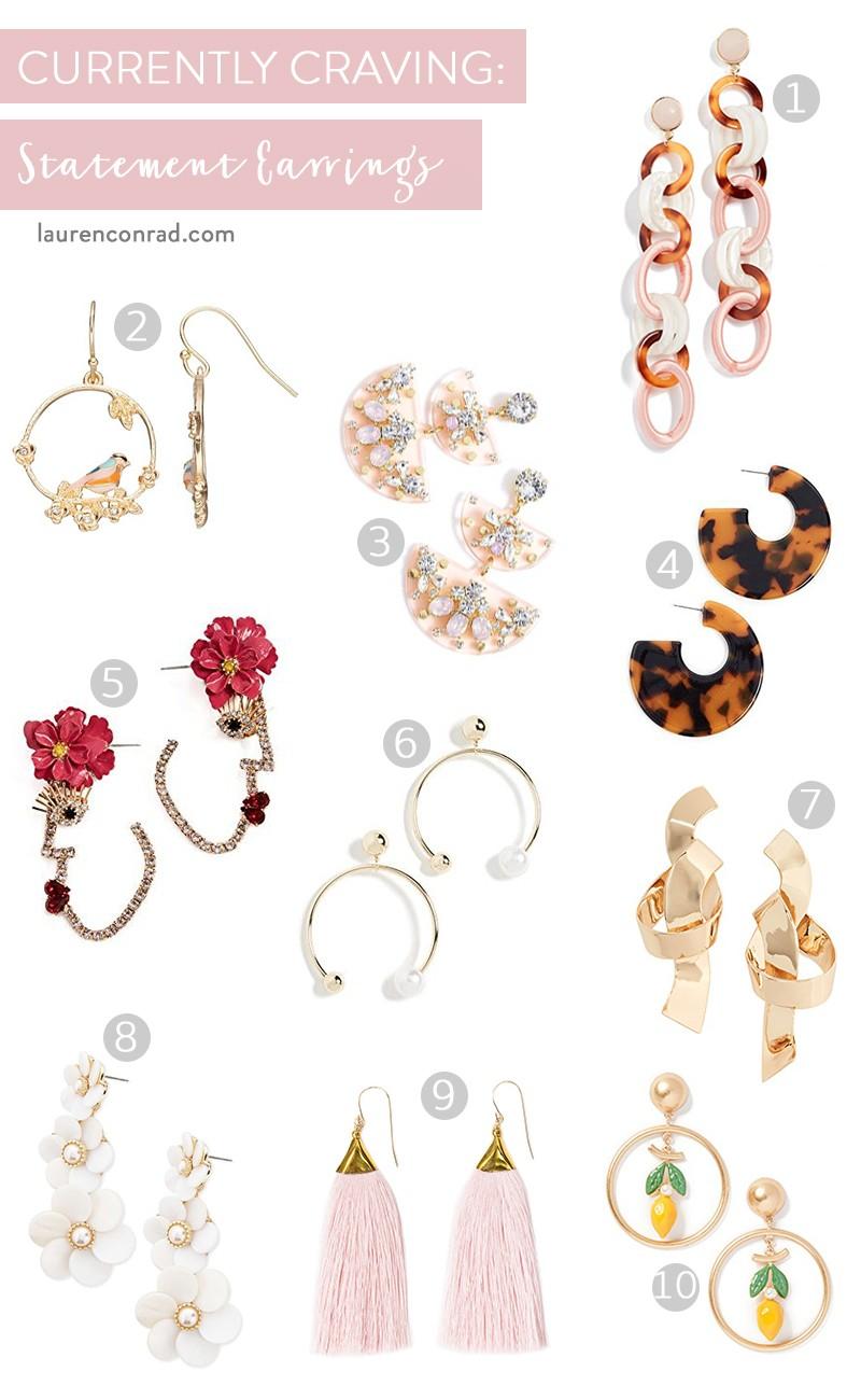 Accessory Report: Statement Earrings - Lauren Conrad