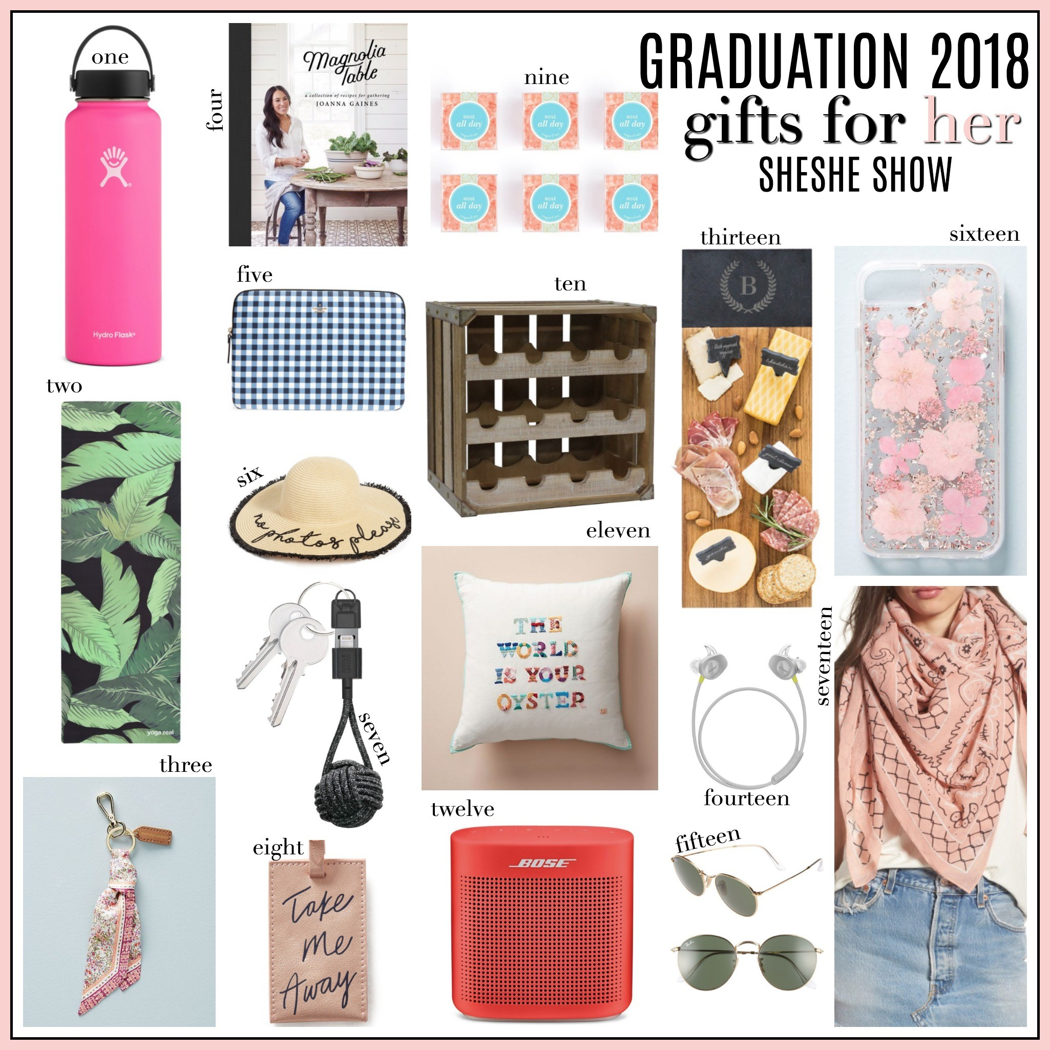89dcf1f6dc3 Graduation Gifts For Her   Him - SheShe Show