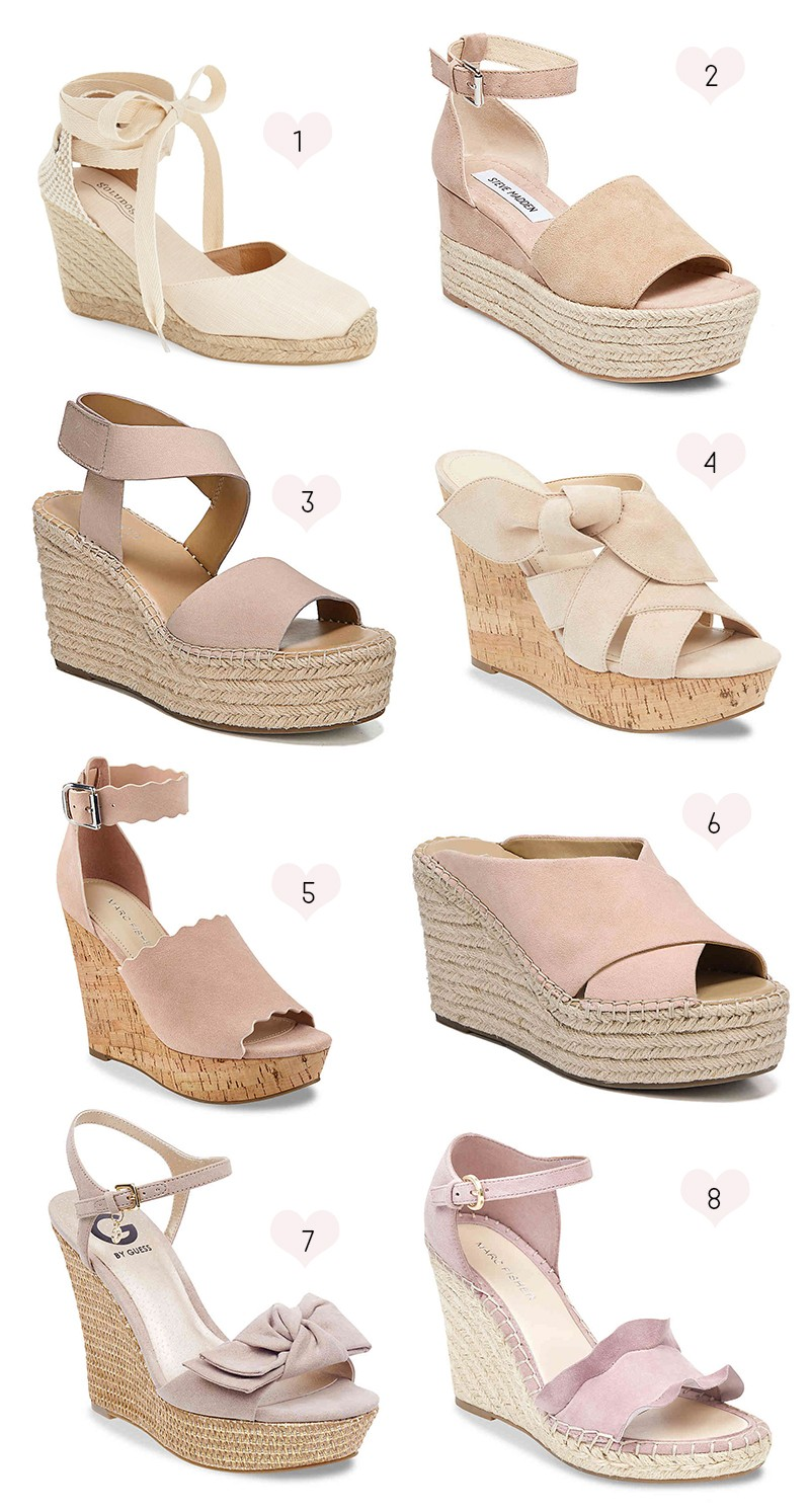 5c37568a6e3 Cheap Cute Wedges for Summer under  100