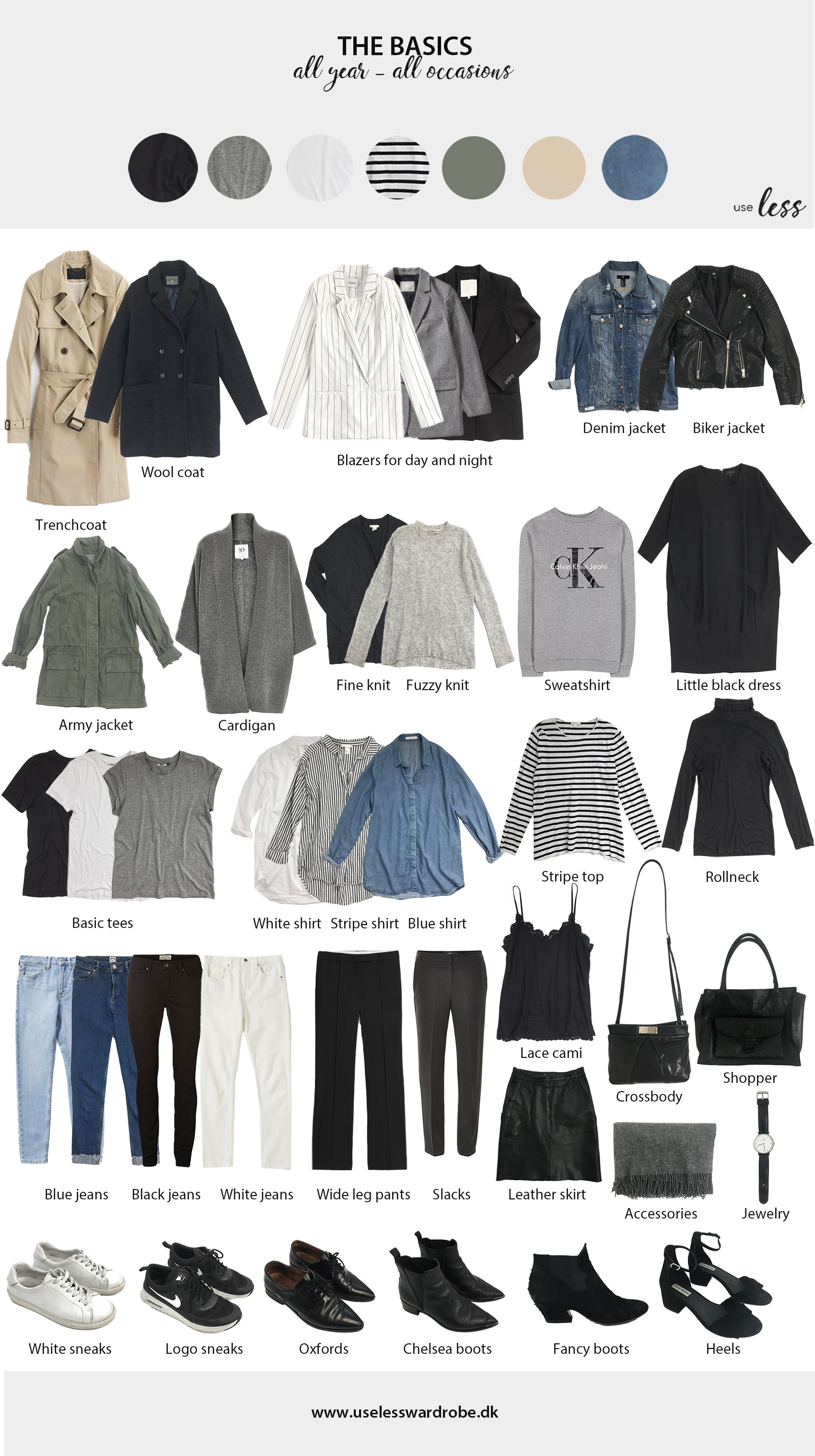 3bc4ccd54 The core basics of any wardrobe