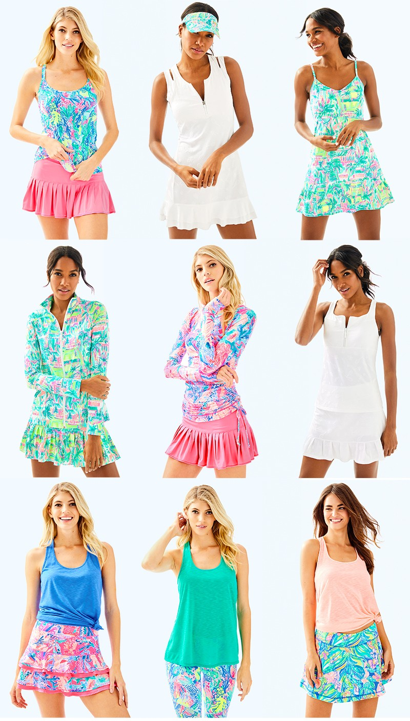 Lilly Pulitzer Tennis Collection ...