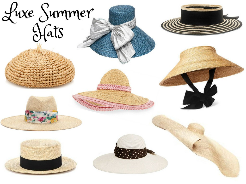 a0c489fd138 Summer Hats for Sun or Sport - Scoop Charlotte Luxe