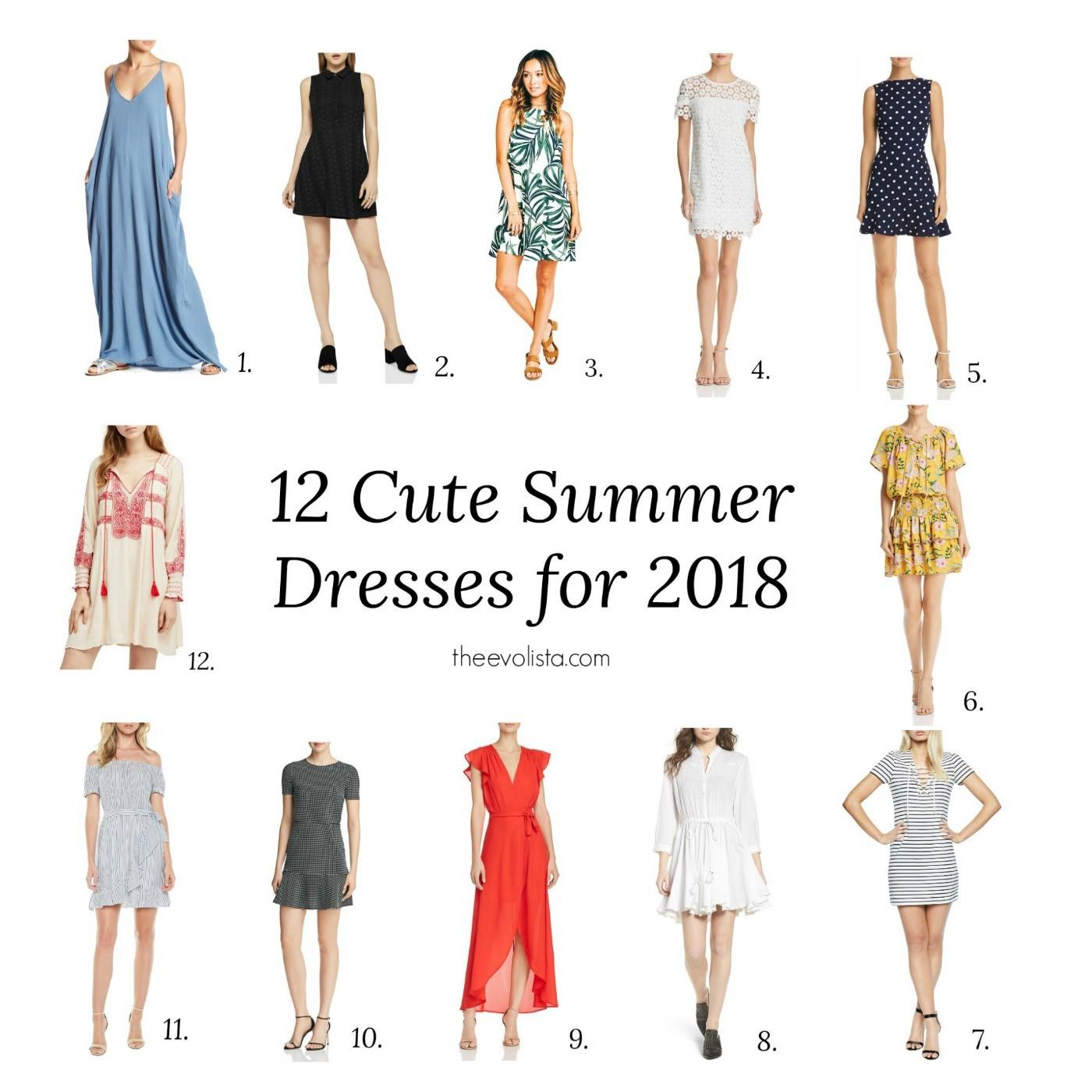 9a069a8384 12 Cute Dresses for Summer 2018 - THE EVOLISTA