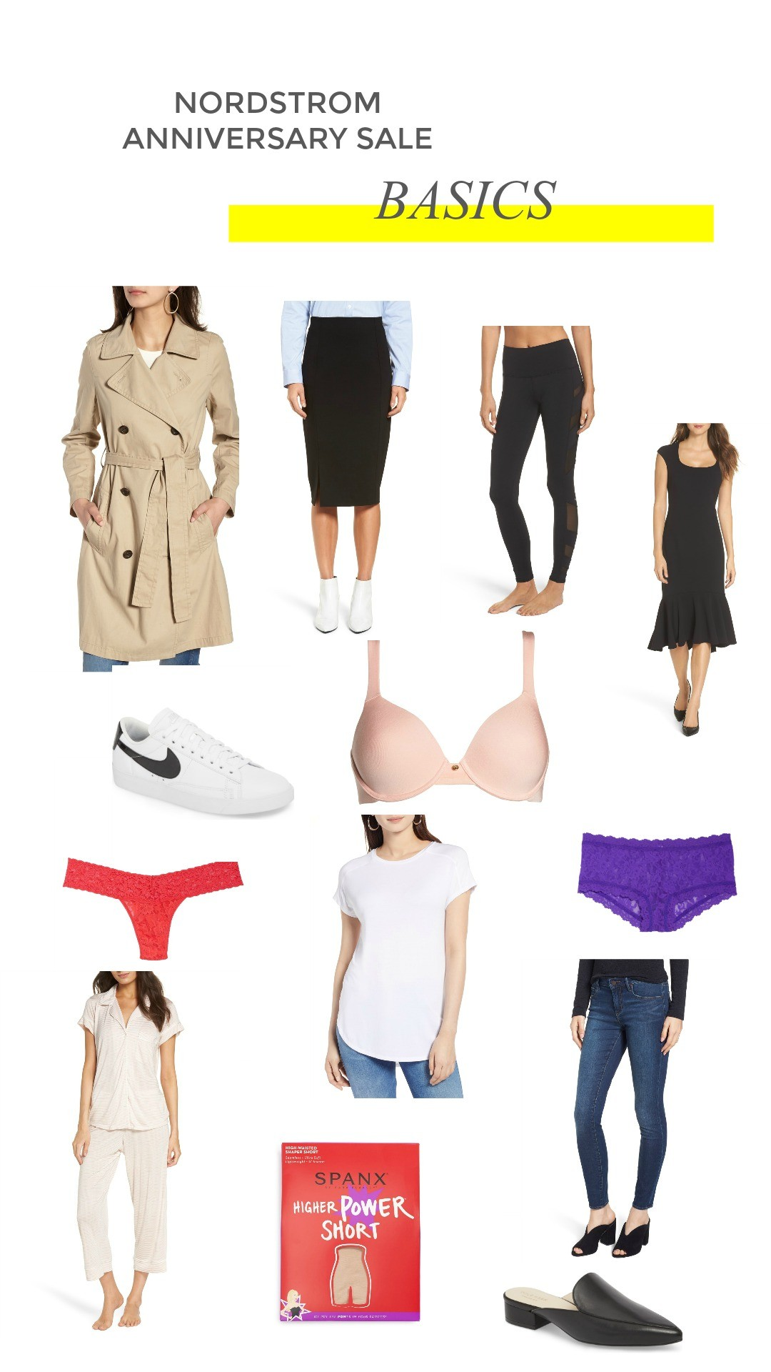 f6c16b190df2e So many great basics come from Nordstrom and are apart of the sale! Wooo! I  loveee that hanky-panky