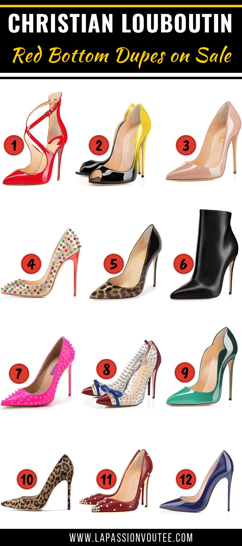 710712f9d6e 15+ Cheap Christian Louboutin Shoe Dupes    Where to Shop Red Bottom ...