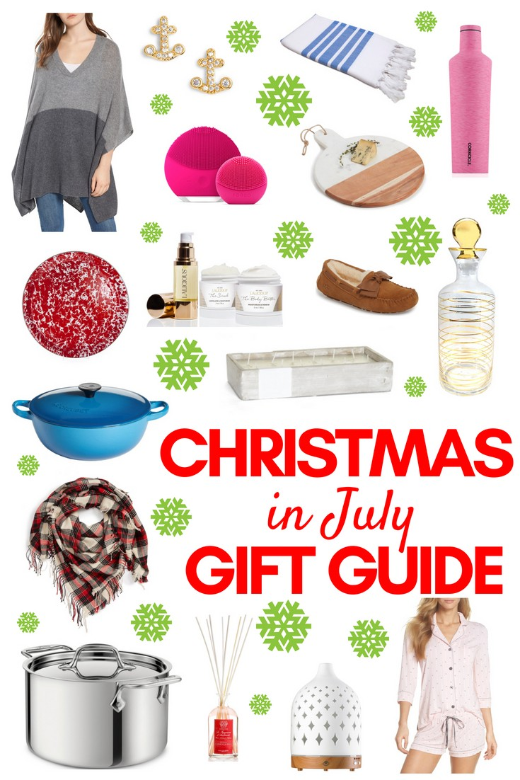 Christmas in July Gift Guide | Living Well Kitchen