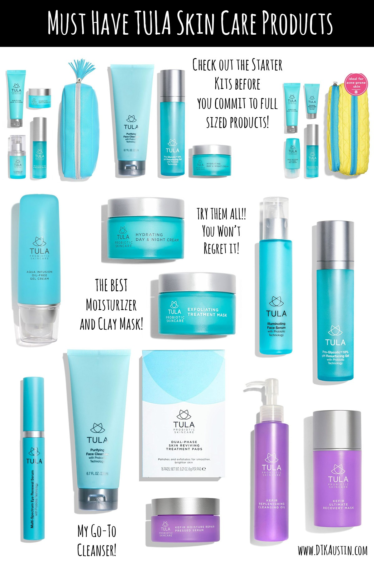 Must Try TULA Skincare Products + 20% Off Promo Code   Dressed to Kill