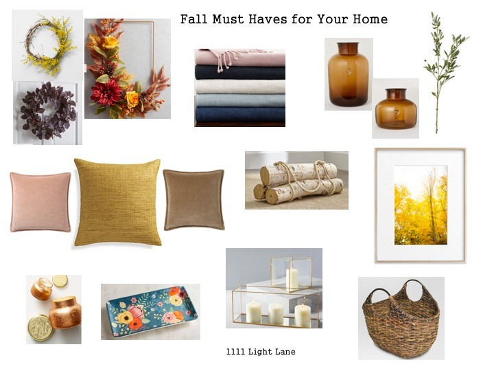 876cdfa893c Fall is hands down my favorite season! Here s a sneak peek at how I  recently added a few little cozy touches to our home. I added greenery