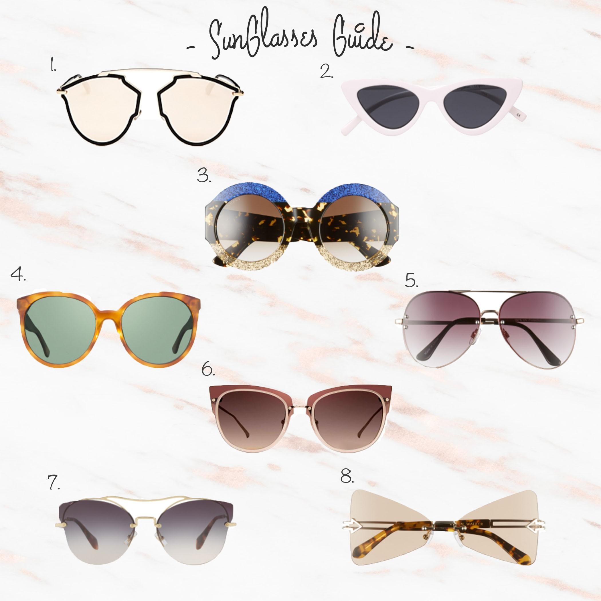5b26e258ad83 Diff Eyewear Cosmo | 5. BP Oversize Mirrored Sunglasses | 6. Diff Eyewear  Demi Lovato | 7. Miu Miu Aviator Sunglasses ...