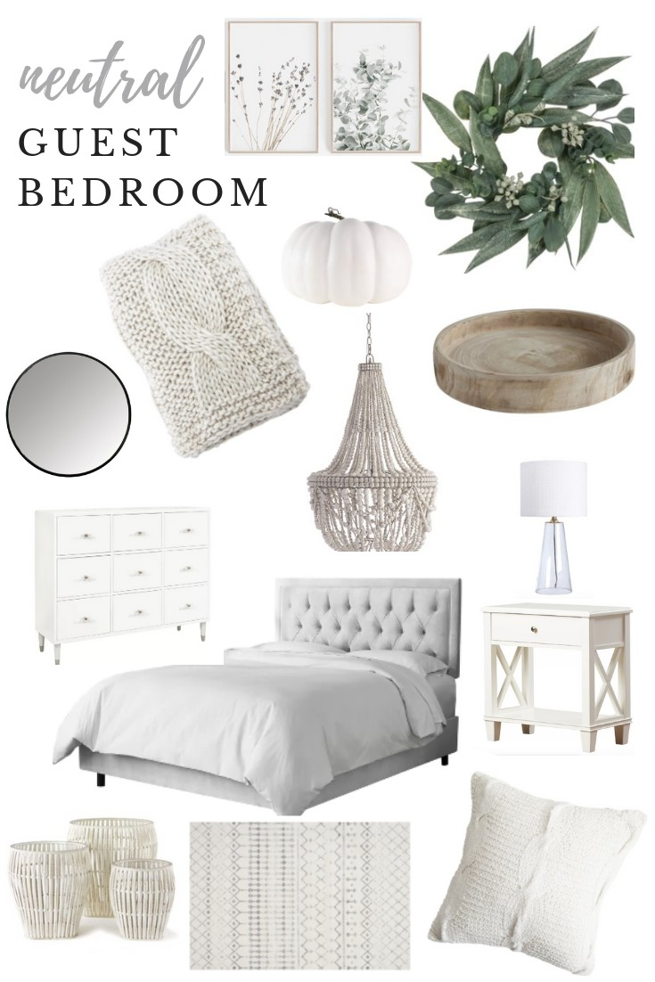 Neutral Guest Bedroom Inspo Pretty In The Pines North Carolina