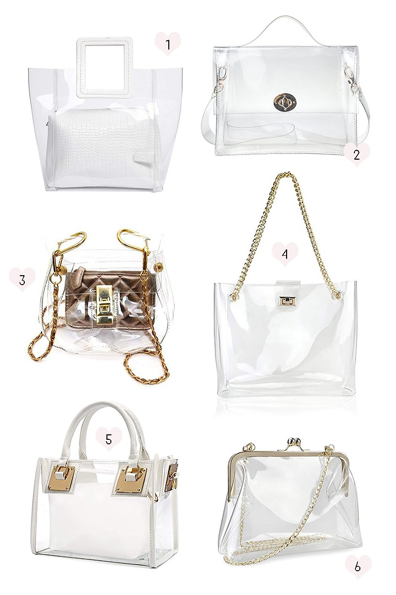 549ba8f18ec4 Game Day Style: Cute Clear Purses and Clear Bags for Football Games