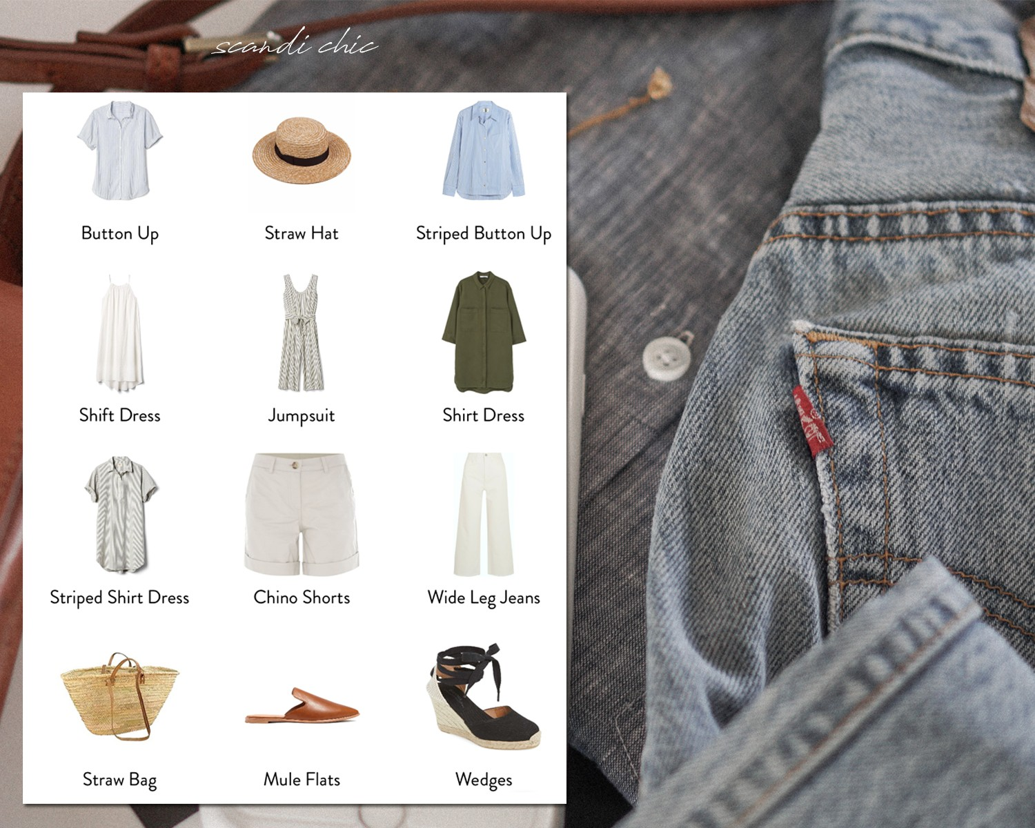 b352efa34b0 How to build a seasonless capsule wardrobe for a warm climate.