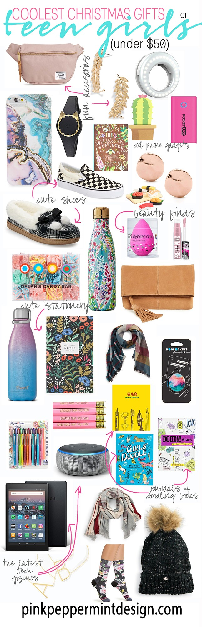 33435a47c17 I hope you find this coolest Christmas gifts for teen girls gift guide  helpful! You can find all of my other gift guides here.