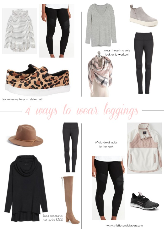 b7217016d25 Here are 4 ways to wear leggings that will inspire you to mix it up with  your outfits!