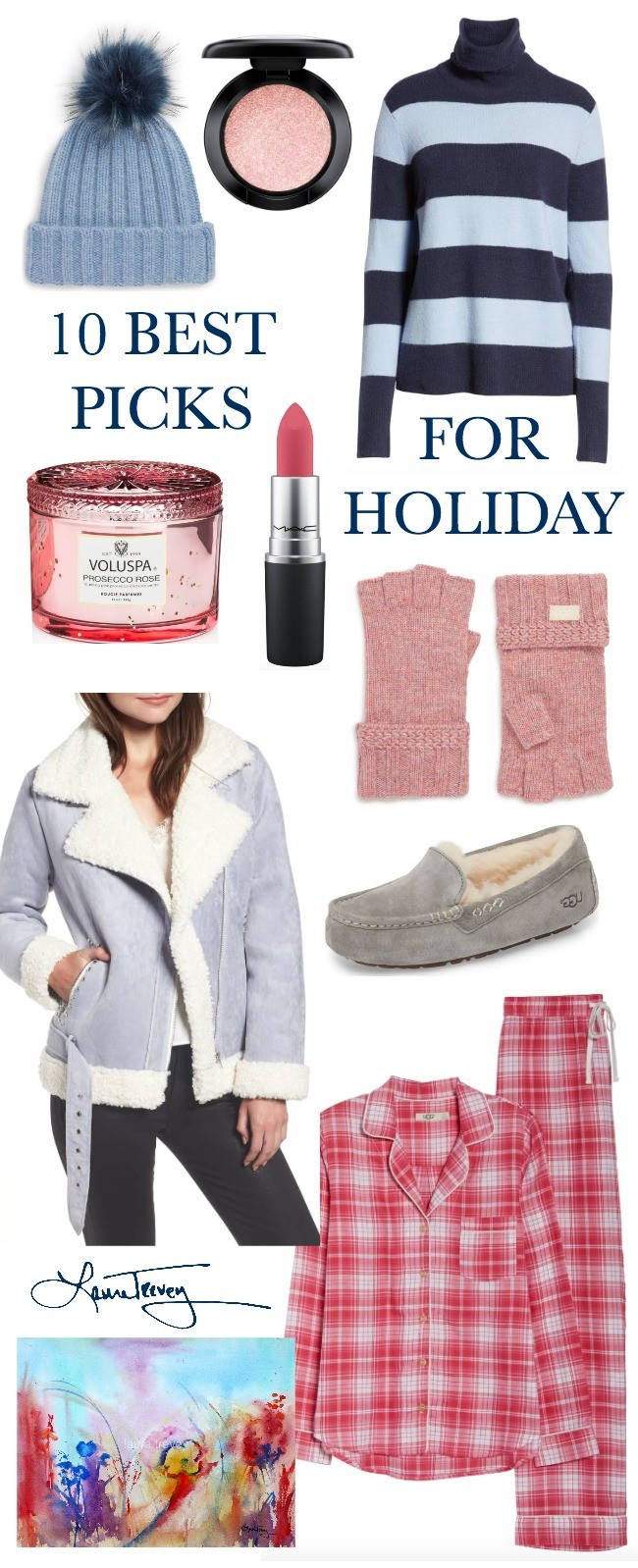 10 Holiday Gifts For Her | Laura Trevey PIcks for 2018