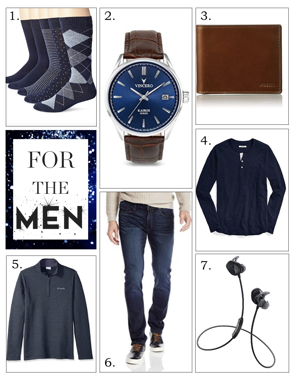 Holiday Gift Guide | Amazon Gifts For Him | Busbee Style